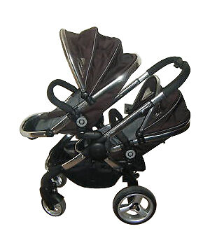21cbcc6838ce iCandy Peach Blossom Carriage Double Seat Stroller - Black Jack for sale  online