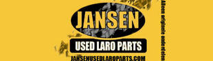 JANSEN USED LARO PARTS