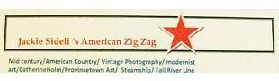 jackie sideli American Zig Zag