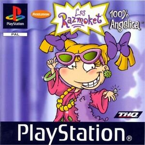 Rugrats: Totally Angelica (Sony PlayStation 1, 2001)