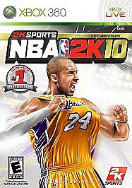 NBA 2K10 - Xbox 360 Game complete 710425396373