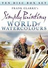 Frank Clarke's Simply Painting - World Of Watercolours (DVD, 2009, 10-Disc Set)