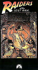 Raiders of the Lost Ark (1987, VHS) Harrison Ford (WLB)