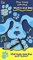Rhythm and Blue [Blue's Clues: Play Along With Blue] [VHS]