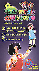 the big comfy couch red light green light manners for molly vhs 2004 ebay. Black Bedroom Furniture Sets. Home Design Ideas