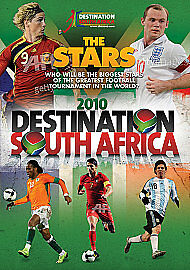 Destination South Africa 2010 - The Stars (DVD, 2010) Region 2 NEW SEALED