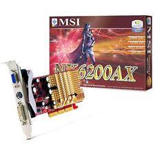 MSI Grafik- & Videokarten mit DDR1-Speicher und 128MB Speichergröße