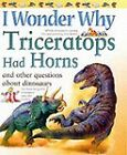 I Wonder Why Triceratops Had Horns and Other Questions About Dinosaurs by Rod Theodorou (Paperback, 2002)