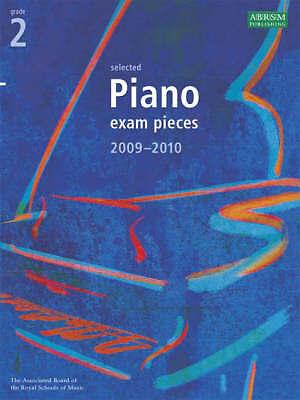 Selected Piano Exam Pieces 2009-2010: Grade 2, , Very Good Book