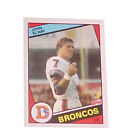Rookie John Elway Single Football Trading Cards