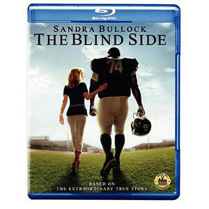 Blind Side Blu-ray True Story NFL Football Michael Oher S Bullock Academy Winner