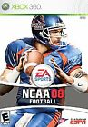 NCAA Football 08 (Microsoft Xbox 360, 2007)