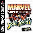 Marvel Super Heroes vs. Street Fighter (Sony PlayStation 1, 1999) - Japanese Version