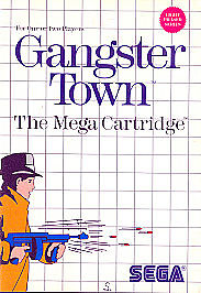 Gangster-Town-Sega-Master-COMPLETE-with-case-and-manual