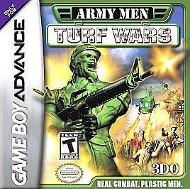 Army Men: Turf War (Nintendo Game Boy Advance, 2002) game Only 3DO !!!
