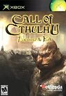 Call of Cthulhu: Dark Corners of the Earth (Microsoft Xbox, 2005)