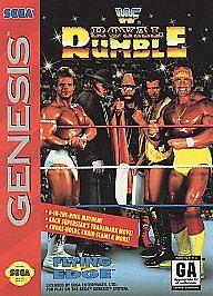 WWF Royal Rumble (Sega Genesis, 1993)