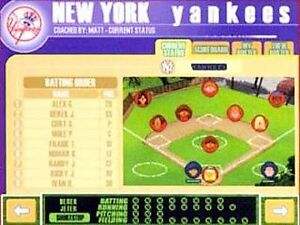 Backyard Baseball Jewel Case Windows Mac 1999 Ebay
