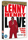 Lenny Henry - So Much Things To Say Live (DVD, 2010)