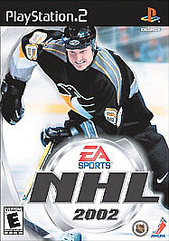 Game-NHL-2002-Sony-PlayStation-2-PS2-Excellent-Condition