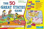 The 50 Great States Game by Scholastic Inc (2003, Paperback) Image