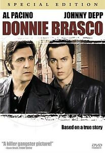 Donnie Brasco  DVD Al Pacino, Johnny Depp, Michael Madsen ~ True Story ~ Rated R