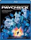 Paycheck (Blu-ray Disc, 2009, Canadian)