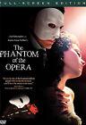 Andrew Lloyd Webber's The Phantom of the Opera (DVD, 2005, Full Frame)