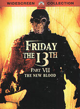 Friday the 13th - Part 7: The New Blood (DVD, 2002) New Sealed. Fast Shipping!!!