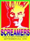 Screamers, The - Live 1978 in San Francisco (DVD, 2004)