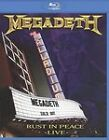 Megadeth: Rust in Peace - Live (Blu-ray Disc, 2010)