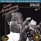 Louis Armstrong & His Orchestra, Vol. 2 (1936-1938): Heart Full of Rhythm by Louis Armstrong (CD, Mar-1993, Decca)