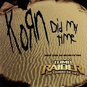KORN-CD-Single-SEALED-Did-My-Time-One-Metallica-Cover