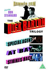 The Dick Barton Trilogy (DVD, 2004, 3-Disc Set) brand new