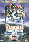 Mighty Morphin Powers Rangers - The Movie / Turbo - A Power Rangers Movie (DVD, 2002, 2-Disc Set)