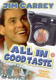 All In Good Taste DVD Jonathan Welsh Harvey Atkin Original UK Rele New Sealed R2