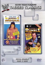 WWE - Royal Rumble 1989 And 1990 (DVD, 2004, 2-Disc Set)