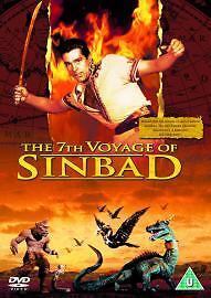 The  7th Seventh Voyage Of Sinbad (DVD, 2005) Ray Harryhausen Kerwin Mathews