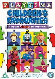 Childrens-Favourites-Playtime-Childrens-Favourites-DVD-NEW-SEALED-FREEPOST