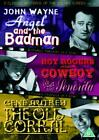 3 Classic Westerns Of The Silver Screen - Vol. 4 - Angel And The Badman / Cowboy And The Senorita / The Old Coral (DVD, 2005)