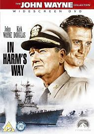 In Harm's Way Dvd John Wayne Brand New & Factory Sealed