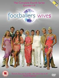 Footballers' Wives - Series 4 - Complete (DVD, 2006) Brand New and Sealed R2