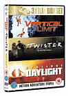 Action Collection - Vertical Limit/Twister/Daylight (DVD, 2007, 3-Disc Set, Box Set)