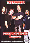 Metallica - Phantom Puppets - Interviews (DVD, 2013)