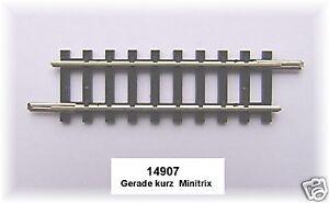 Trix Minitrix 14907 gerades Gleis 50,0 mm#NEU - 1 Stück