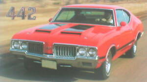 1969 Dodge CHARGER  vs 1970 Olds 442 Road Test Brochure