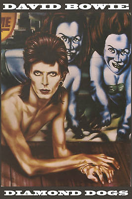 David Bowie * Diamond Dogs * Promo Poster 1974