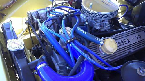 Ford Granada Mk3, 2.4, 2.9,V6, Scorpio,10mm Formula Power RACE QUALITY HT leads.