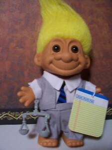 LAWYER-ATTORNEY-5-034-Russ-Troll-Doll-NEW-IN-ORIGINAL-WRAPPER-Very-Rare