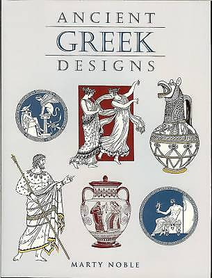 Ancient Greek Designs - 110 Black-and-white Royalty-free Illustrations, Pb